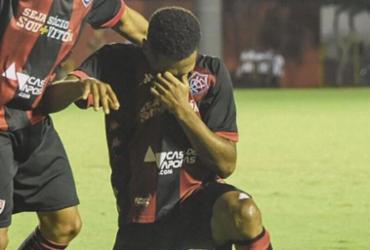 Em rede social, Wesley se despede do Vitória | Letícia Martins | EC Vitória