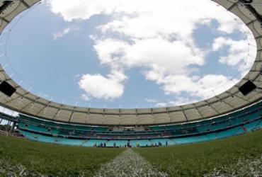 Tricolor tenta dar um consolo à torcida na despedida da Arena Fonte Nova | Felipe Oliveira | EC Bahia | Divulgação