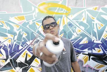 Diferentes gerações do grafite na Bahia cobram respeito por meio da arte | Felipe Iruatã | Ag. A TARDE