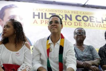 PSOL lança pré-candidatura do deputado estadual Hilton Coelho | Adilton Venegeroles | Ag. A TARDE