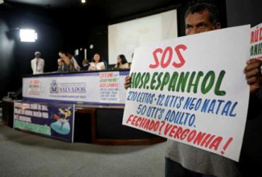 Audiência sobre Hospital Espanhol na Câmara termina sem resoluções definitivas | Adilton Venegeroles | Ag. A TARDE
