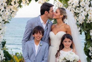 Casamento de Carol Dias e Kaká teve 1,5 tonelada de lixo reciclado | Reprodução