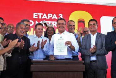 Ordem de serviço que leva metrô até Águas Claras em 2022 é assinada | Carol Garcia | GOVBA