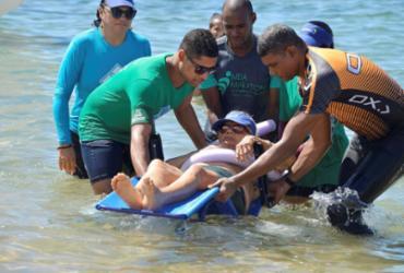 Projeto 'ParaPraia' recebe inscrições de voluntários até quinta | Shirley Stolze | Ag. A TARDE