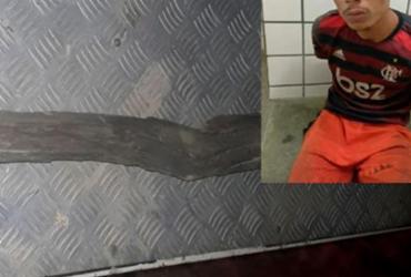 Suspeito de agredir a esposa grávida é preso na Bahia | Reprodução | Teixeira Hoje