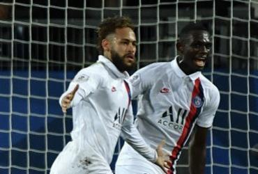 Neymar, Mbappé e Icardi dão vitória de virada ao PSG sobre o Montpellier | Pascal Guyot | AFP