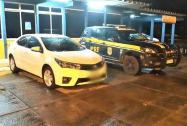 Polícia recupera veículo furtado em Eunápolis | Divulgação | PRF