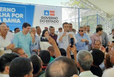 Governador Rui Costa passa mal e é atendido pelo Samu | Divulgação | GOV-BA