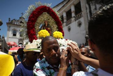 Santa Luzia tem dia de homenagens no Comércio | Raul Spinassé | Ag. A TARDE
