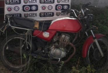 Homem que transportava drogas em motocicleta é preso em Monte Santo | Divulgação | SSP