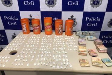 Homem é preso com mais de 250 papelotes de cocaína escondidos em casa | Ascom | PC