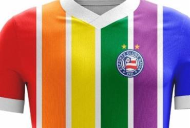 LGBTs vestem a camisa do Bahia | Divulgação
