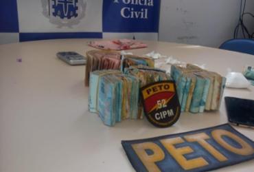 Suspeita de tráfico é presa com R$ 33 mil na RMS | Divulgação | SSP