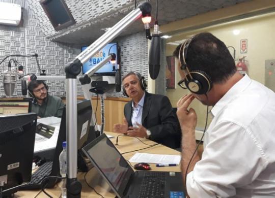 Luiz Carreira anuncia contratação de crédito de R$ 104 mi para obras de mobilidade   Divulgação