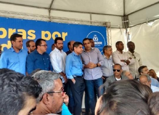 ACM Neto afirma que governo não solicitou licenças para VLT e tramo 3 do metrô | Jaqueline Suzart | Ag. A TARDE