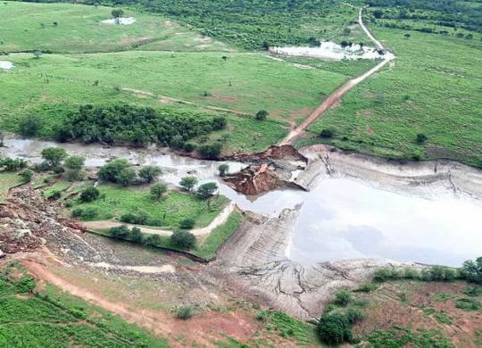 Número de barragens com dano potencial alto chega a 26% | Eudes Benício | Gov-BA