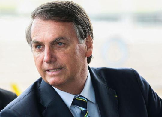 Bolsonaro faz exame para investigar possível câncer de pele   Antonio Cruz   Agência Brasil