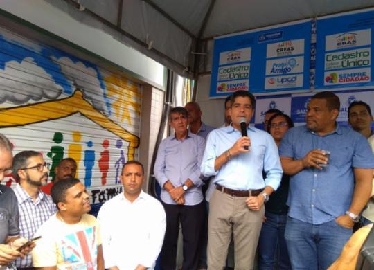 Centro de Assistência Social é reinaugurado na Fazenda Grande do Retiro | Shagaly Ferreira | Ag. A TARDE