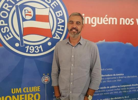 Bellintani comunica desligamento de Marcelo Vilhena, gerente de base | Divulgação | EC Bahia