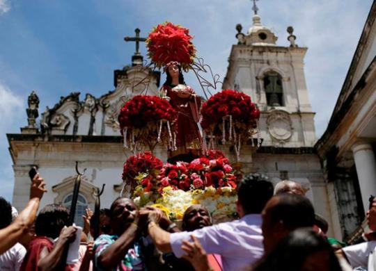 Programação especial marca Festa de Santa Luzia nesta sexta   Raul Spinassé   Ag. A TARDE