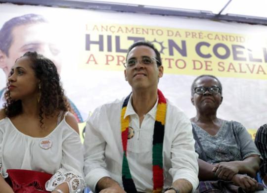 PSOL lança pré-candidatura de Hilton Coelho à prefeitura de Salvador | Adilton Venegeroles | Ag. A TARDE