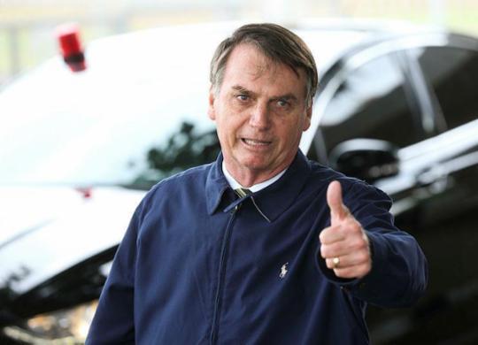 Jair Bolsonaro desembarca quarta-feira em Salvador para evento no aeroporto | Antonio Cruz | Agência Brasil