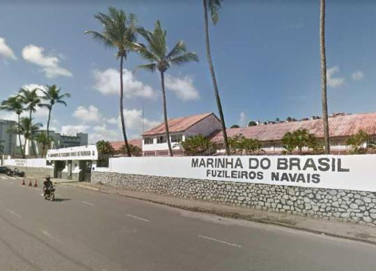 Jovem morre após passar mal durante teste físico da Marinha em Salvador | Reprodução | Google Street View
