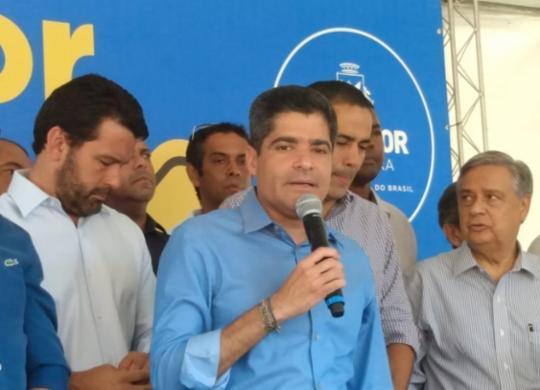 Com investimento de R$ 9 milhões, prefeitura inicia construção da via João Gilberto | Jaqueline Suzarte | Ag. A TARDE