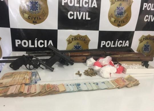 Operação conjunta cumpre 31 mandados no sul do estado | Divulgação | Polícia Civil