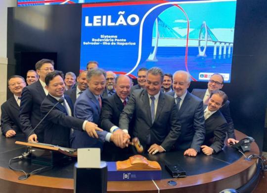 Martelo batido: consórcio chinês vai construir Ponte Salvador-Ilha de Itaparica | Divulgação | Secom Gov