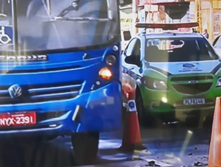 Acidente aconteceu após um posto de combustíveis | Foto: Reprodução | TV Bahia - Foto: Reprodução | TV Bahia