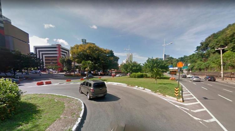 Interdição irá alterar trânsito em Salvador   Reprodução   Google Street View - Foto: Reprodução   Google Street View