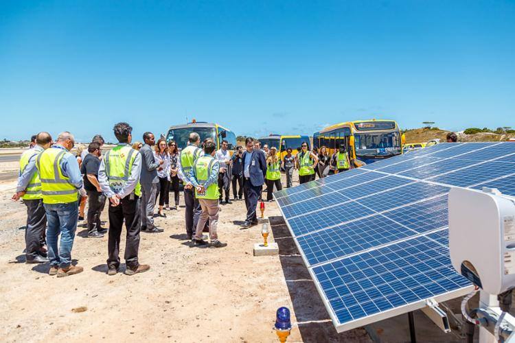 Para a construção da usina solar, foi feito um investimento de R$ 16 milhões   Foto: Will Recarey   Divulgação - Foto: Will Recarey   Divulgação