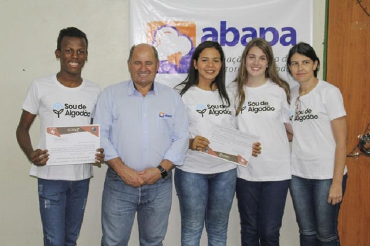 Equipe de estudantes teve apoio da Abapa | Foto: Divulgação - Foto: Divulgação