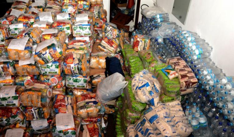 Doação beneficiará cerca de 350 famílias | Foto: Divulgação - Foto: Divulgação