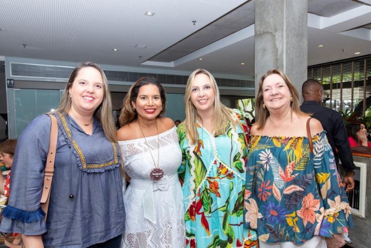 Zezé Carvalho, Adriana Régis, Caroline Moreira e Cássia Coni Moura   Foto: Álem Silva - Foto: Álem Silva