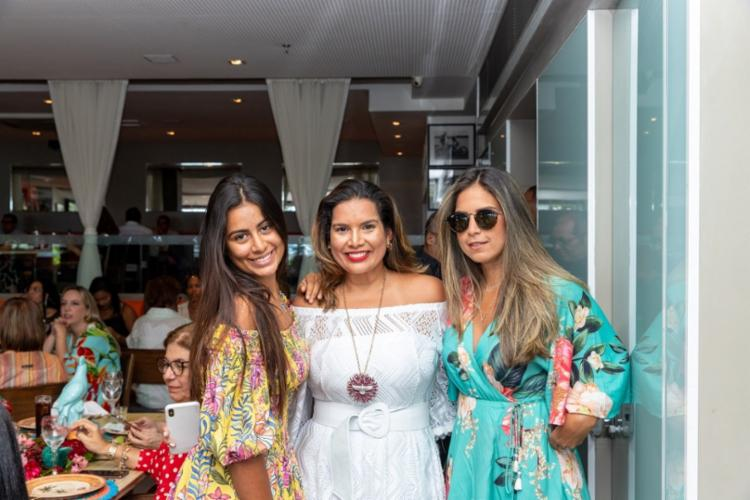 Tetê, Adriana e Fernanda Régis | Foto: Álem Silva