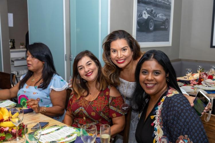 Nadja Bastos, Adriana Régis e Elaine Nogueira   Foto: Álem Silva