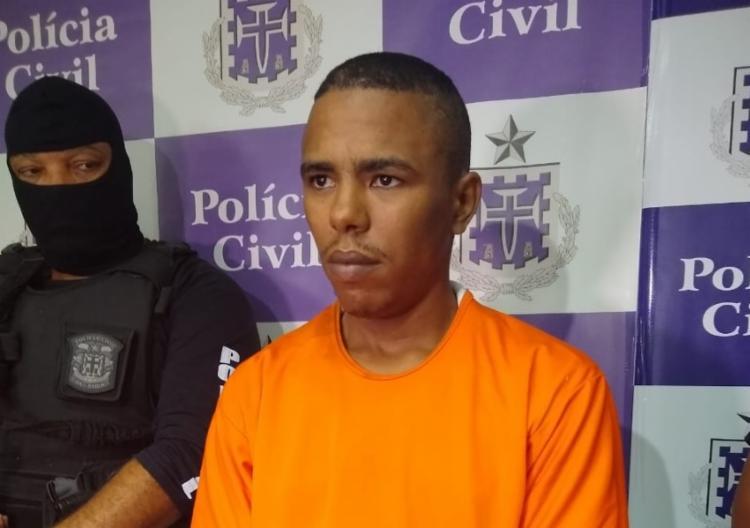 Após o crime, suspeito se refugiou na casa de parentes no bairro de Periperi | Foto: Nicolas Melo - Foto: Nicolas Melo