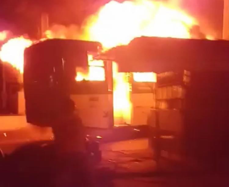 Ataque aconteceu na noite de segunda-feira | Foto: Reprodução - Foto: Reprodução