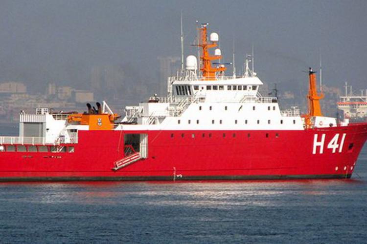 Embarcação deve chegar no início da manhã desta quarta-feira, 11 | Foto: Divulgação | Marinha - Foto: Divulgação | Marinha