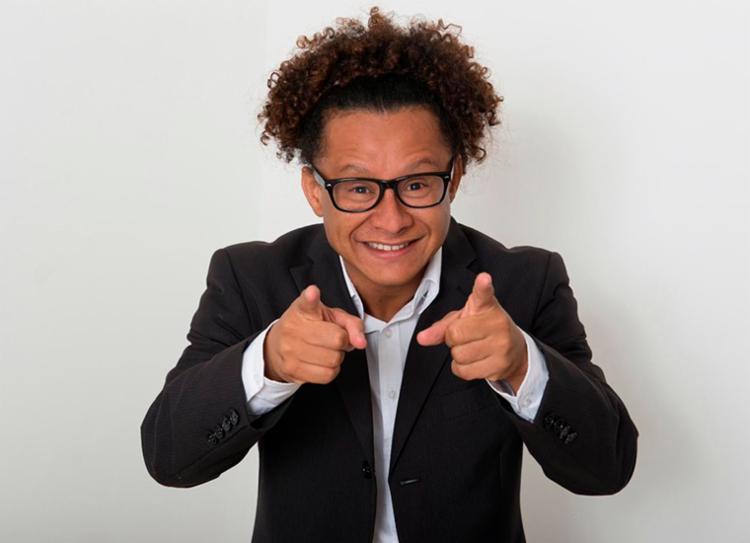 Humorista Pisit Mota é um dos convidados do Baba Solidário | Foto: Divulgação - Foto: Divulgação