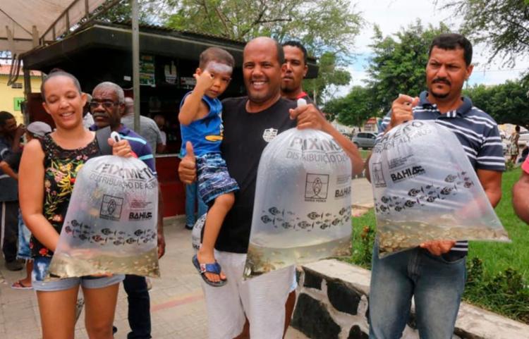 Ação busca incentivar a produção de peixes   Foto: Divulgação - Foto: Divulgação