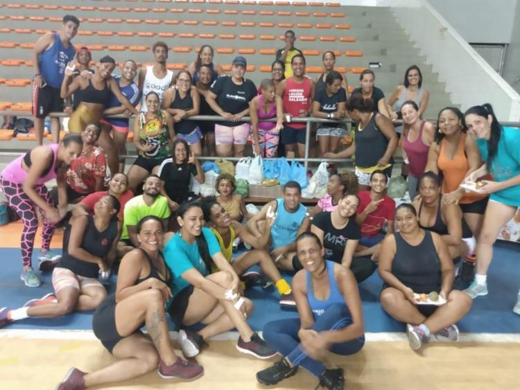 Esportistas se concentraram no Ginásio de Cajazeiras | Foto: Divulgação - Foto: Divulgação