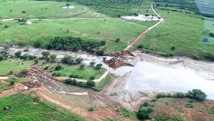 """Órgão órgãos fiscalizadores listaram um total de 68 barragens como """"críticas""""   Foto: Eudes Benício   GOVBA - Foto: Eudes Benício   GOVBA"""