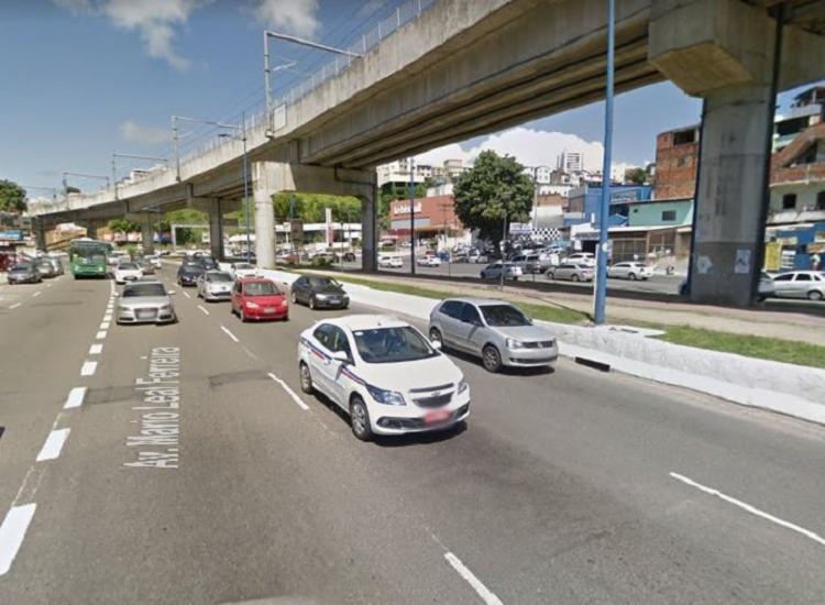 O acidente não deixou feridos | Foto: Reprodução | StreetView - Foto: Reprodução | StreetView