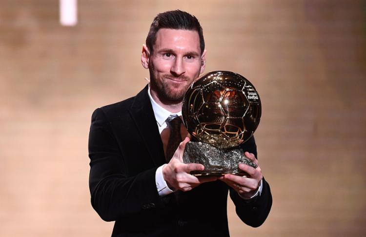 Messi desbancou o holandês Van Djink, o português Cristiano Ronaldo e o senegalês Sadio Mané | Foto: Franck Fife | AFP - Foto: Franck Fife | AFP