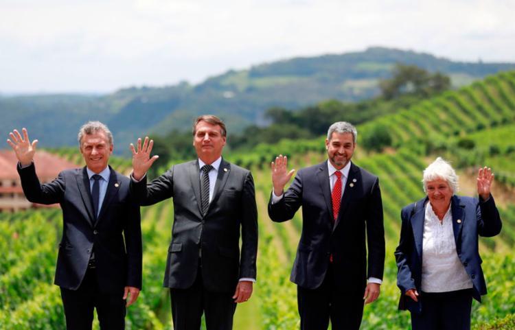 De acordo com o Ministério das Relações Exteriores, os países do Mercosul equivalem à quinta economia do mundo | Foto: Reuters | Diego Vara | Direitos Reservados - Foto: Reuters | Diego Vara | Direitos Reservados