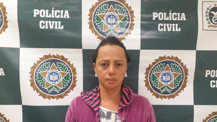Adriana Ferreira foi condenada a 20 anos pelo assassinato do marido   Foto: Divulgação   Polícia Civil - Foto: Divulgação   Polícia Civil