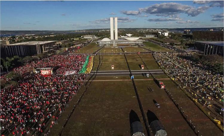 Produção mostra o impeachment de Dilma Rousseff | Foto: Divulgação - Foto: Divulgação